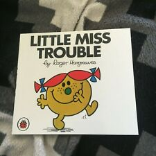 NEW, ROGER HARGREAVES. LITTLE MISS TROUBLE. 6
