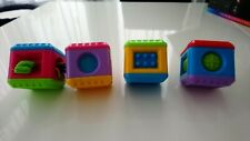 Fisher Price Peek A Boo Blocks Sensory (postage can be combined)