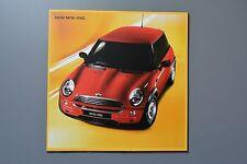R&L Sales Brochure: BMW MINI One & Cooper 2001, Specs/Colours etc
