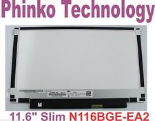 """NEW 11.6"""" LED Screen 1366x768 WXGA HD 30Pin SLIM N116BGE EA Rev.C1"""