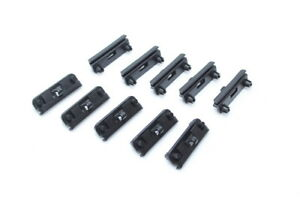 BMW Genuine E30 Front Spoiler Clips clamp 10 pcs OEM NEW 51711945568