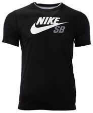 Camisetas de niño de 2 a 16 años negros Nike