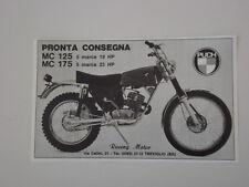 advertising Pubblicità 1972 MOTO PUCH MC 125 / 175