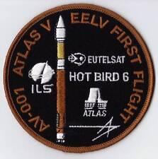 ATLAS V EELV HOTBIRD 6 EUTELSAT - FIRST FLIGHT - USAF SATELLITE SPACE PATCH