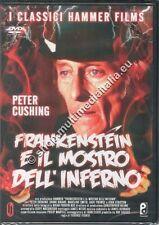 FRANKENSTEIN E IL MOSTRO DELL'INFERNO '74 Hammer DVD