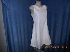 """JellyBean Jr Plus Size Sleeveless Ivory Dress """"NEW"""" Size 8.5"""