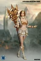 SUPER DUCK 1/6 Cosplay SET043 Fairy Elf Head Carving Clothes Access Set Figure