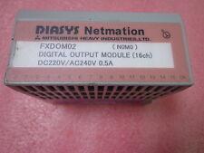 DIASYS Netmation I/O MODULE TYP:FXDOM02(DIGITAL OUTPUT 16CH) MITSUBISHI