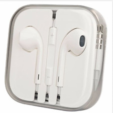 Hot Earphones for iPhone 6 5 4S Remote Mic, In the crystal box New