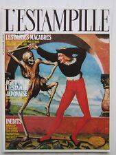 L'ESTAMPILLE N° 189 /Danses macabres/estampe japonaise