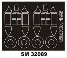 Montex Mini Mask 1:32 Bloch 152 for Azur Kit Spraying Stencil #SM32089