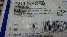 MOEN T2112EPORB Kingsley Posi-Temp Performance Shower Trim in Oil Rubbed Bronze