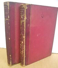 The Baronial Halls & Ancient Picturesque Edifices of England 1881 Two Volumes