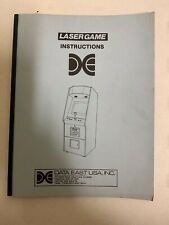 Data East Lasergame Instructions