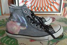Vintage CONVERSE Chuck Taylor BLACK SABBATH Paranoid Shoes 8.5 OZZY