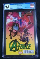A-Force #1 Dauterman Variant Cover CGC 9.8 2138757022