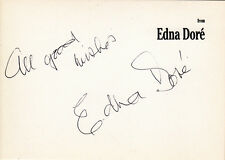 "Edna Dore † ""Mo Butcher"" in EastEnders original signiert/signed !"
