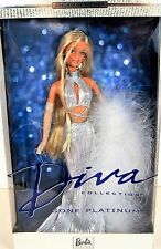 BARBIE DOLL GONE PLATINUM DIVA COLLECTION BARBIE DOLL EDITION NEW IN BOX