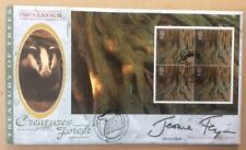 Benham 18.9.2000 Treasury of Trees FDC Yew signed JEROME FLYNN, Game Of Thrones