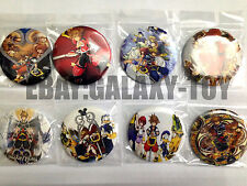 Kingdom Hearts 4.3 CM 8x LOTS PIN back BADGES BUTTONS NEW PARTY BAG GIFT CLOTH