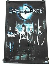 """Evanescence / Original Poster #3093 / Exc.+ new condition / 24 x 36"""" ( group )"""