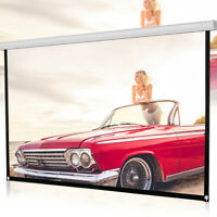 60inch HD Projector Screen 16:9 Home Cinema Theater Projection Portable Screen