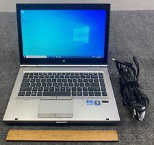 "HP EliteBook 8460p 14"" Laptop i5-2520M, 4GB RAM, 180GB SSD w/Adapter"