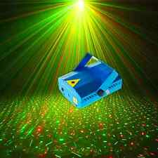 Mini Laser Projector Dots Lights with Music Sensor for Party, Bar, X'mas AU Plug