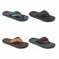 Reef Contoured Cushion Men Sandals | slipper | Leather, Textile - NEW