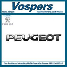 Genuine Peugeot 107 Tailgate 'Peugeot' Lettering Badge Emblem 8665NN