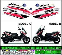 kit autocollant stickers compatible xmax 125 250 400 2014 50 th anniversary