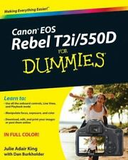 Canon EOS Rebel T2i / 550D For Dummies Pre-Owned