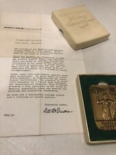 Bausch & Lomb - Art Deco Style, Honorary Science Award Bronze Medal 1969