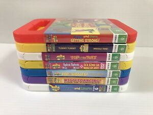 🌿 The Wiggles DVDs X 7 - 9 Shows Region 4