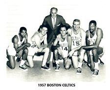 1957 BOSTON CELTICS 8X10 TEAM PHOTO BASKETBALL PICTURE NBA