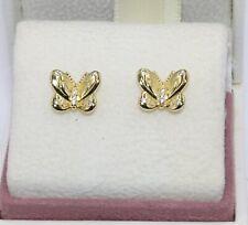 AUTHENTIC PANDORA Butterfly Stud Earrings,  267921CZ    #1950