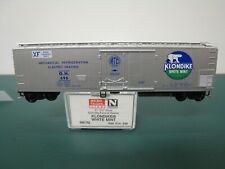 Micro-Trains N scale Klondike mechanical reefer car White Mint road #696