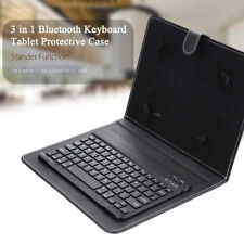 F327 PC Bluetooth Keyboard Portable 10.5 Inch Keyboard Tablet Cases for Apple