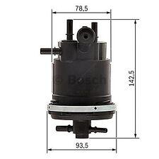 Filtro Tubo Di Combustibile Bosch 0450907001-singolo