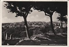 # CATANZARO: PANORAMA DA VILLA PEPE  - 1955