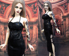 1/3 BJD outfit Iplehouse Female 62-65cm doll clothes EID SID leather dress set