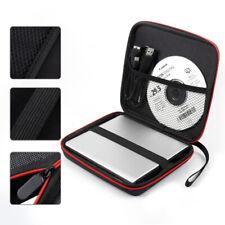 External USB CD DVD Drive Burner Writer Blu-Ray Hard Protective Carrying Case US