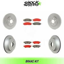 Front Brake Rotor Semi-Metallic Pad For Nissan Frontier Pathfinder Xterra Suzuki