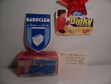 BOITE   NEUVE  POUR LE  BAROCLEM  N°561 DINKY TOYS