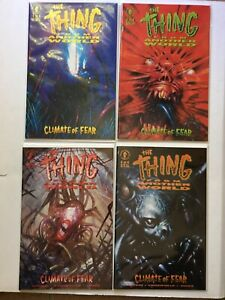 THE THING FROM ANOTHER WORLD CLIMATE OF FEAR #1 2 3 4 NM #1-4 Dark Hors Comics
