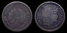 pci1109) NAPOLI RARO 2 LIRE 1813 GIOACCHINO NAPOLEONE