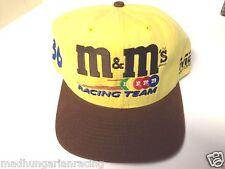 VINTAGE NASCAR M&M'S RACING CREW MEMBER HAT CAP NEW SCHRADER SNAP BACK