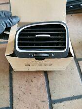 NEU Original VW Golf VI Cabriolet Links Lüftungsgitter Schwarz Chrom 5K0819703K