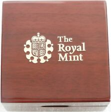 2014 - 2019 Royal Mint Deluxe Wooden Gold Proof Full Sovereign Coin Box Only