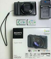 LikeNew SONY CyberShot DSC-HX50V 20.4 MP Digital Camera with 30x Optical Zoom